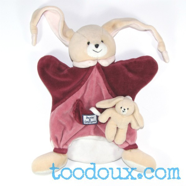 doudou et cie doudou marionnette lapin de doudou et compagnie. Black Bedroom Furniture Sets. Home Design Ideas