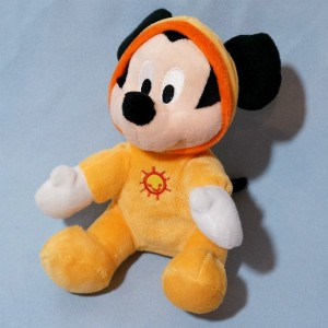 Mickey NICOTOY DISNEY sos doudou pyjama orange