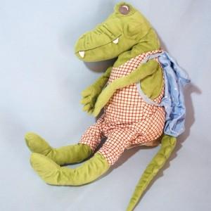 Crocodile IKEA doudou en peluche vert + 50 cm