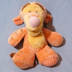Tigre NICOTOY Disney doudou Tigrou orange en peluche