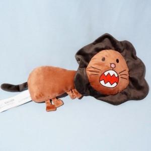 Lion Ikéa sos doudou marron