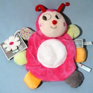 Coccinelle KALOO doudou marionnette Nopnop