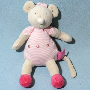 "Souris MOULIN ROTY doudou  ""Lila Patachon"""