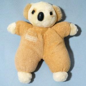 Koala BEBISOL doudou peluche beige