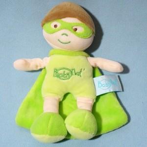 Super héros BABY NAT' vert