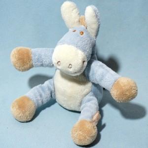 Ane NOUKIE'S sos doudou Paco bleu 16 cm