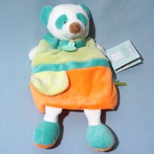 Panda DOUDOU ET COMPAGNIE Collection Petit Secret marionnette