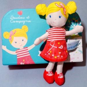 Poupée UNICEF Doudou et Compagnie Coraline
