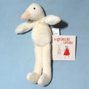 """""""Jeanne"""" la cane  MOULIN ROTY Mini Doudou La Grande Famille 20 cm"""