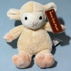 Mouton ANNA CLUB PLUSH doudou peluche beige