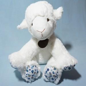 Mouton LE PETIT PRINCE doudou peluche blanc