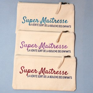 "Trousse ""Super Maîtresse"""