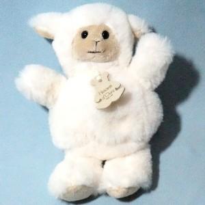 Mouton ou Agneau HISTOIRE D'OURS blanc écru, beige