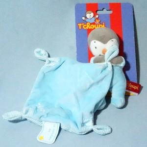 Tchoupi NICOTOY bleu avec doudou