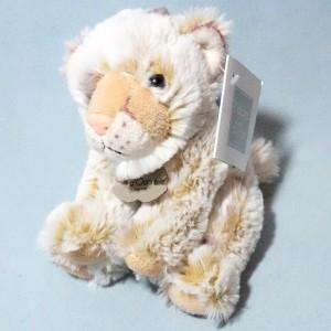 Lion HISTOIRE D'OURS doudou peluche beige PM