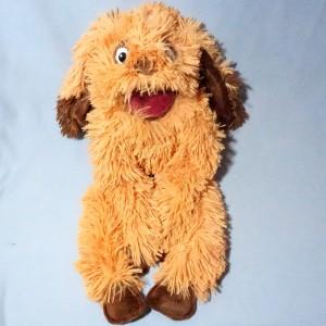 Chien OH! STUDIO sos doudou marionnette Piloo Piloo beige