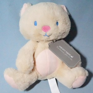 Chat SERGENT MAJOR doudou peluche beige