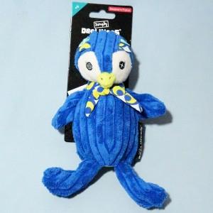 """pingouin """"Frigos"""" Simply DEGLINGOS doudou bleu"""