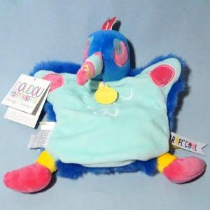 Toucan DOUDOU ET COMPAGNIE marionnette Tropi'cool