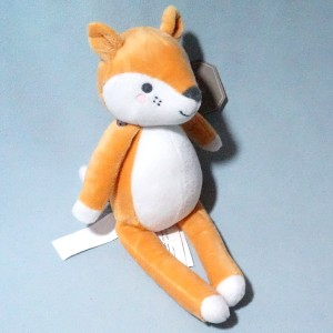 Renard SERGENT MAJOR doudou peluche orange