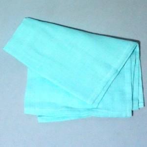 Lange Gémo doudou bleu turquoise