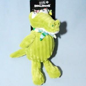 """Alligator """"Alligatos"""" Simply DEGLINGOS  vert 15 cm"""