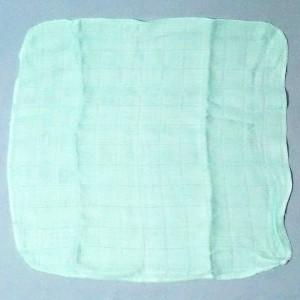 lange XKKO  petit doudou plat vert 30 cm