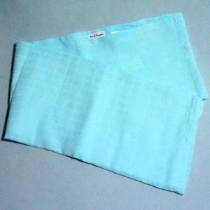 lange ou couche carré PAT & RIPATON doudou bleu
