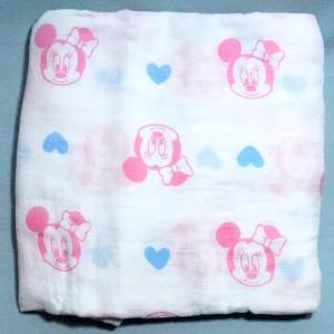 Lange Minnie DISNEY Baby sos doudou carré plat