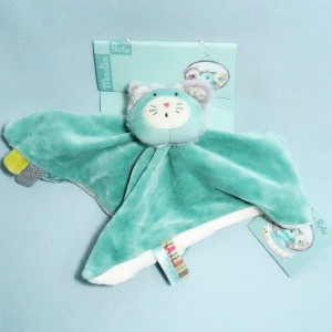 Chat MOULIN ROTY doudou plat les Pachats