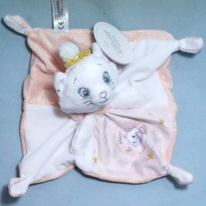 Marie Les Aristochats DISNEY NICOTOY chat blanc et rose
