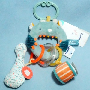 Monstre Ollie NOUKIE'S doudou jouet N1872.06
