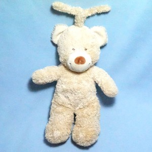 Ours TEX sos doudou peluche musical beige