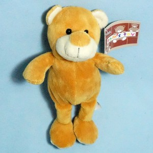 Ours TOM'S TOY peluche beige