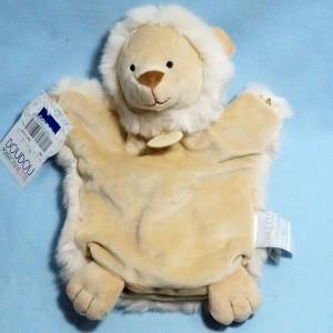 Lion DOUDOU ET COMPAGNIE beige marionnette DC3613