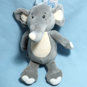 Elephant SIMBA (Kiabi) doudou peluche gris