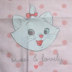 Marie Les Aristochats DISNEY Baby doudou lange Sweet & Lovely
