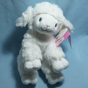 Mouton POMMETTE Intermarché peluche blanc