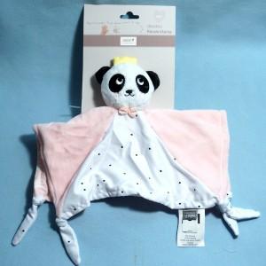 Panda BEBE 9 carré plat rose Mania
