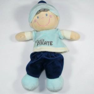 Doudou Garçon Petit Pirate bleu Vêtir